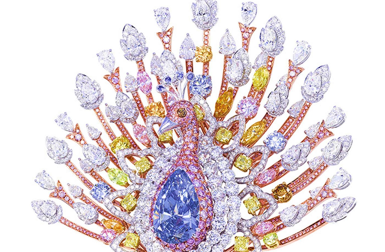 Peacock Brooch among most expensive jewelry