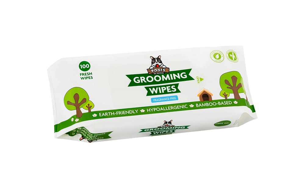 pogi's grooming wipes for dogs