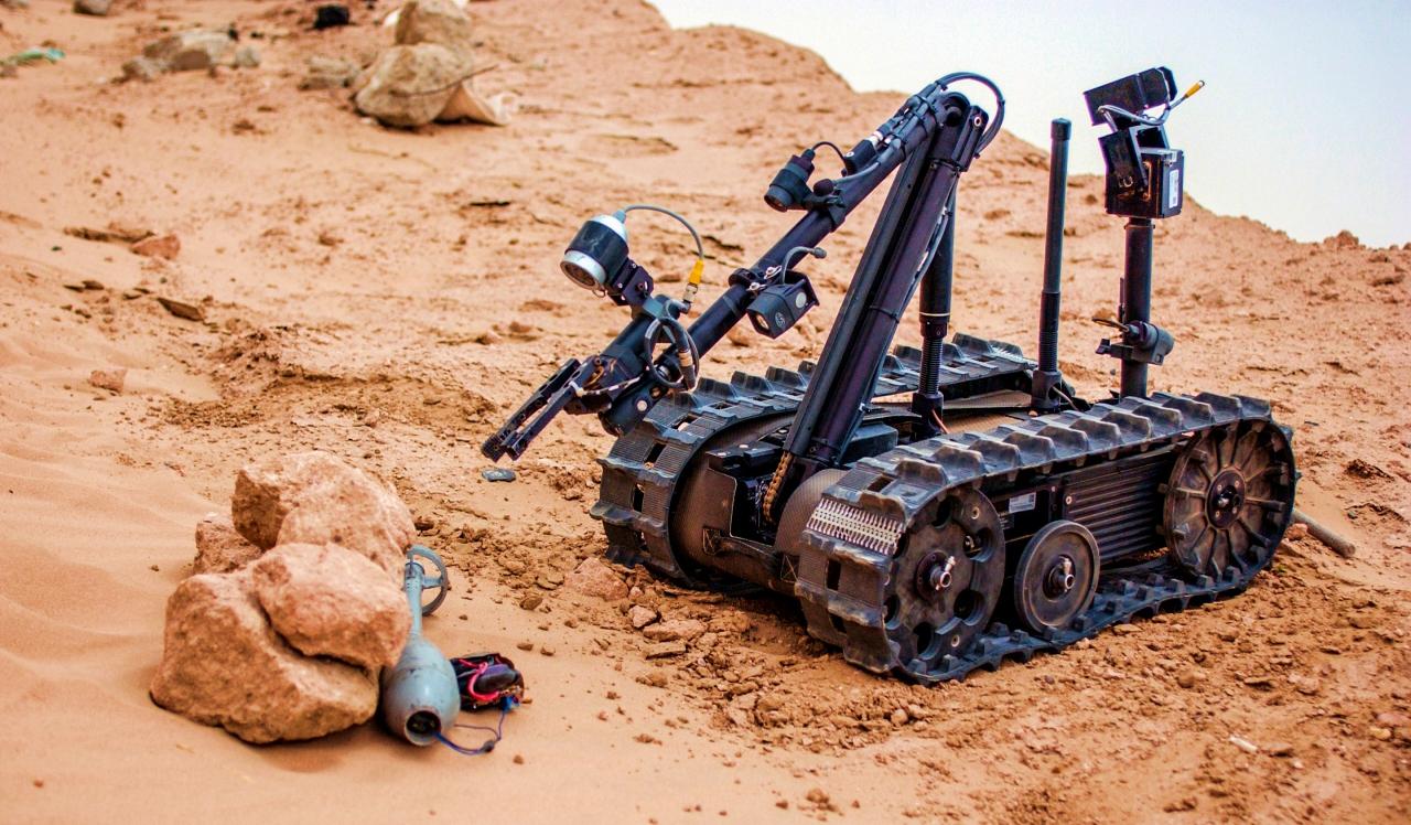 Bomb squad robot jobs