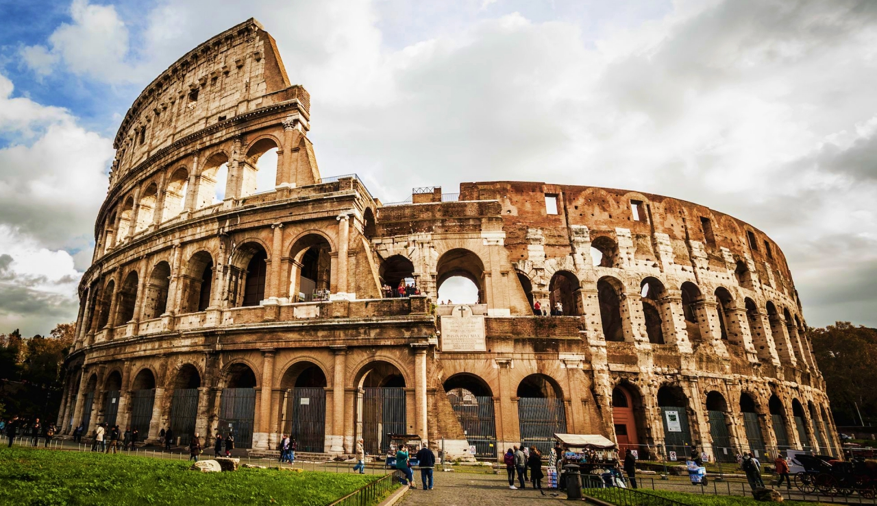old things on earth roman colosseum