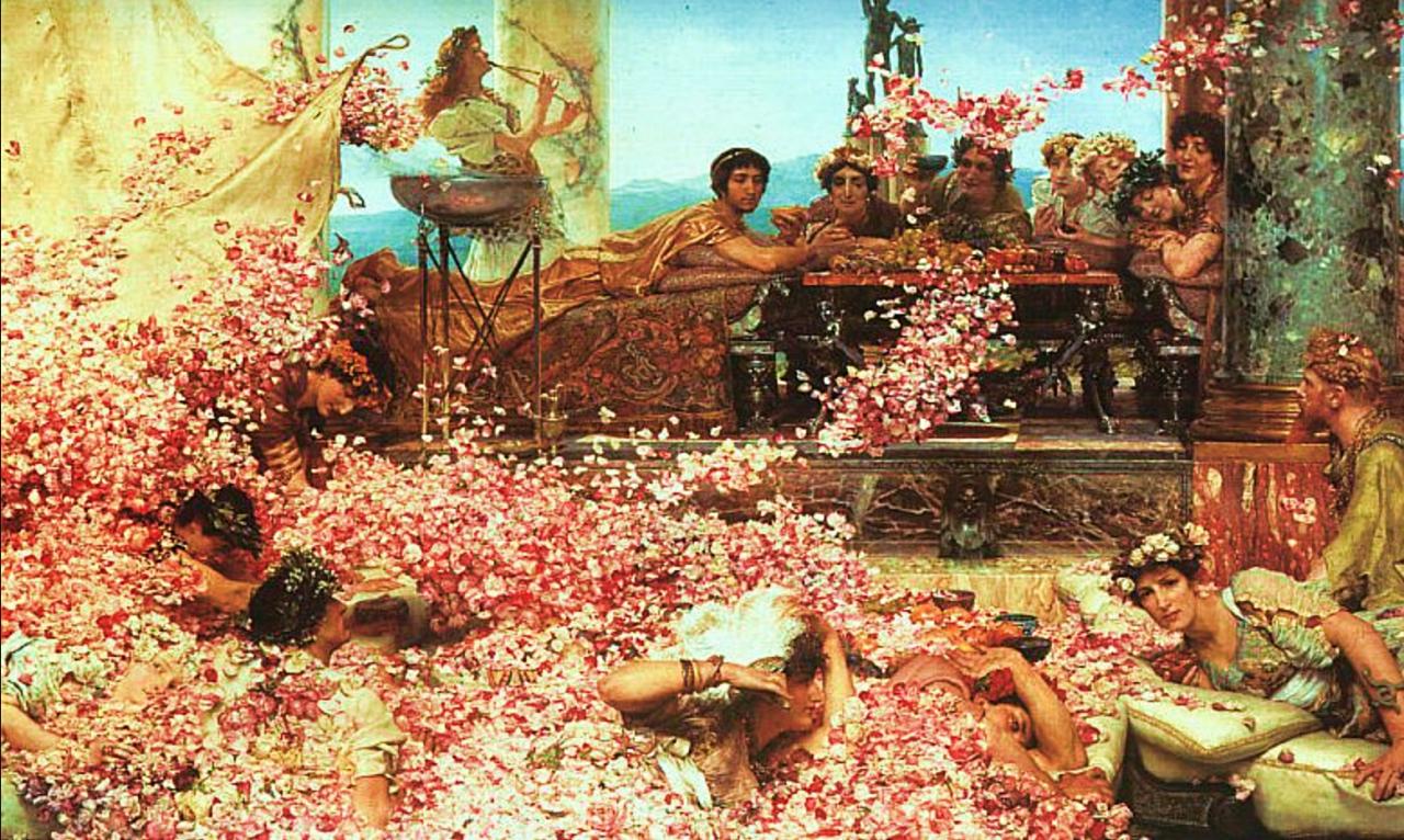 Roman parties among ridiculous parties