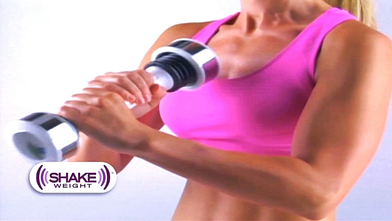 Shake Weight among exercise trends