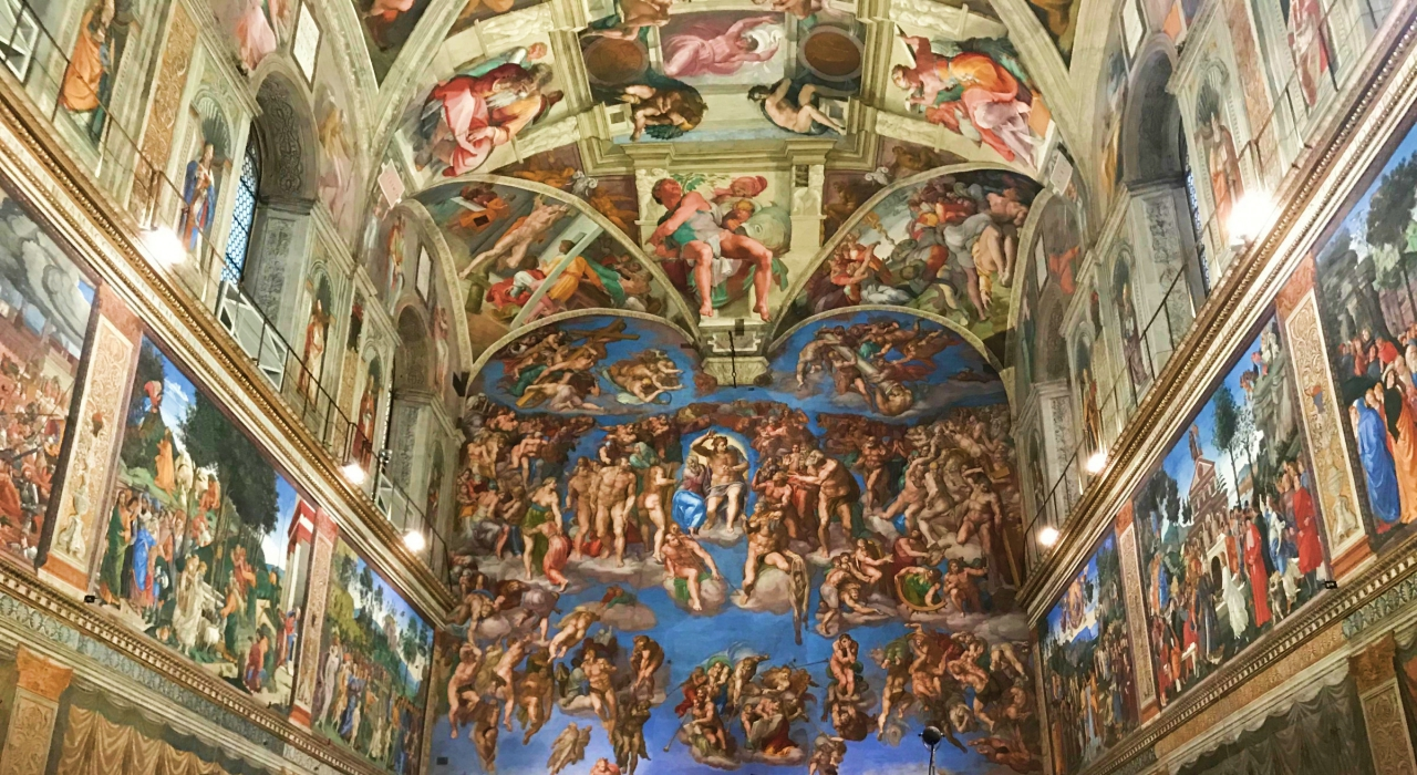Sistine Chapel lavish buildings