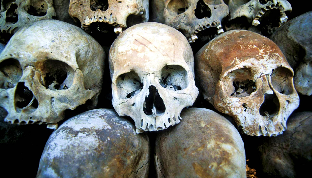 Skulls used in ancient medical practices