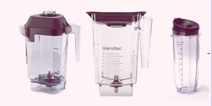 smoothie blender jars