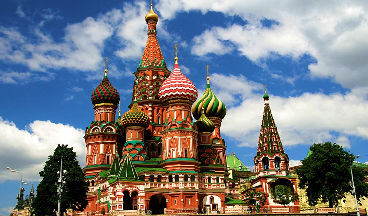 St. Basil's lavish buildings