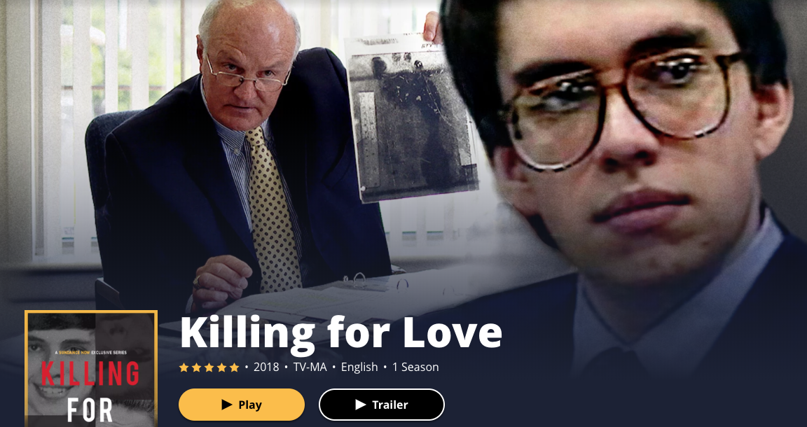 Killing For Love From Sundance Now