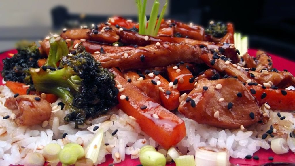 teriyaki chicken dorm recipes