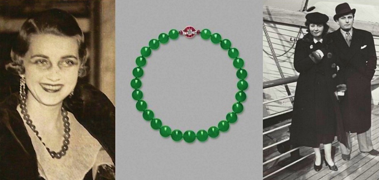 The Hutton-Mdivani Jadeite Necklace among most expensive jewels