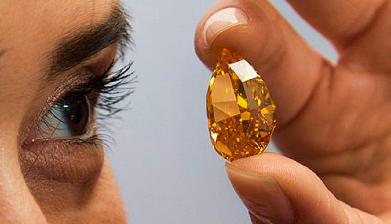 The Orange most expensive jewels