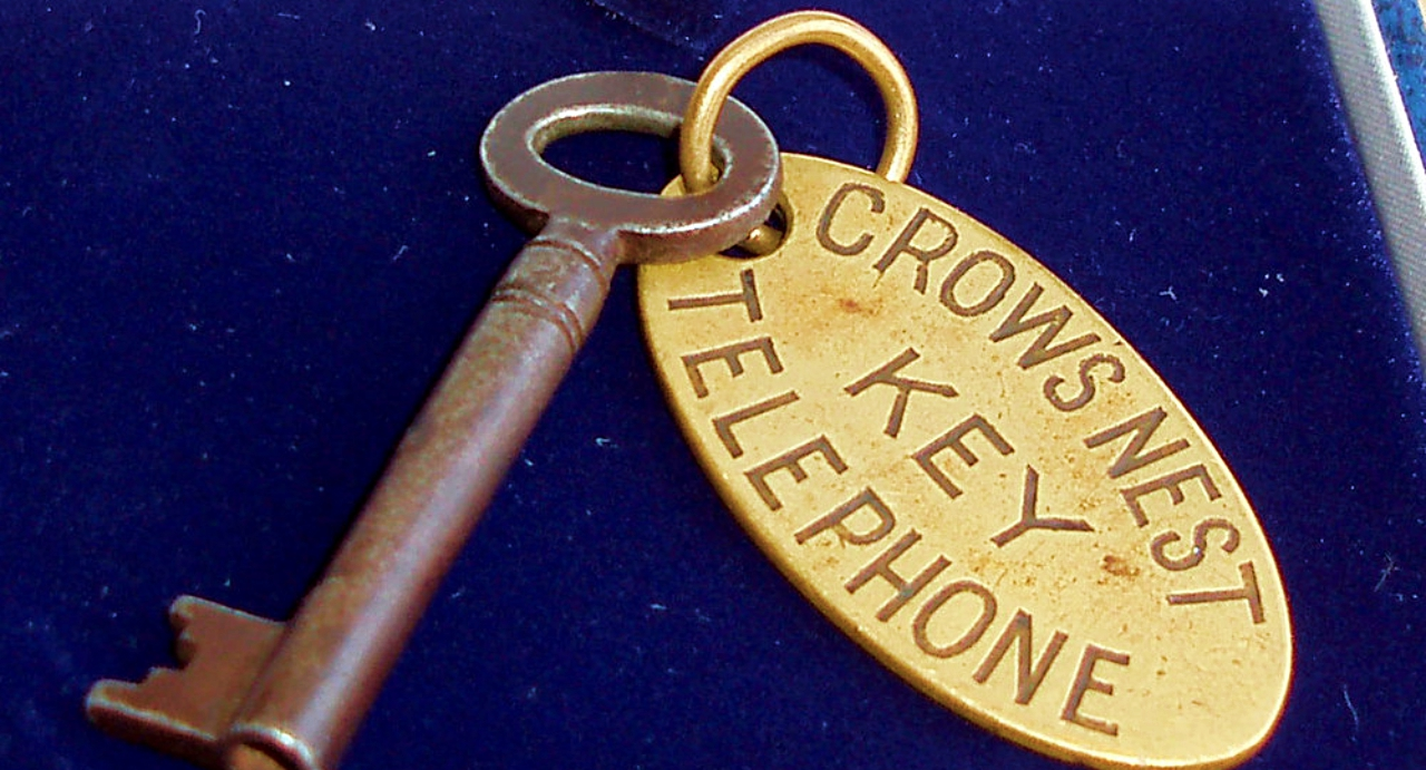 Titanic Crow's Nest Key