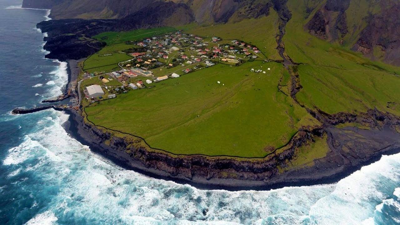 Tristan da Cunha among extreme places
