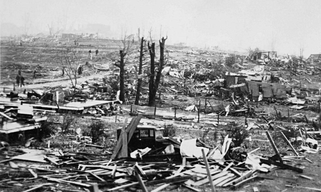 Tupelo among most destructive tornadoes