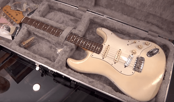 vic flick's 1961 fender stratocaster pawn stars