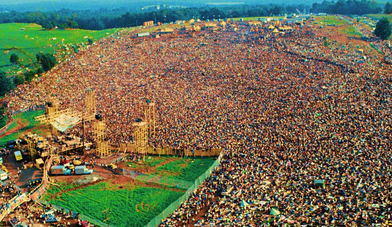 Woodstock among ridiculous parties
