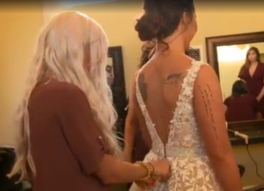 Halie gets ready to marry her Fiancé