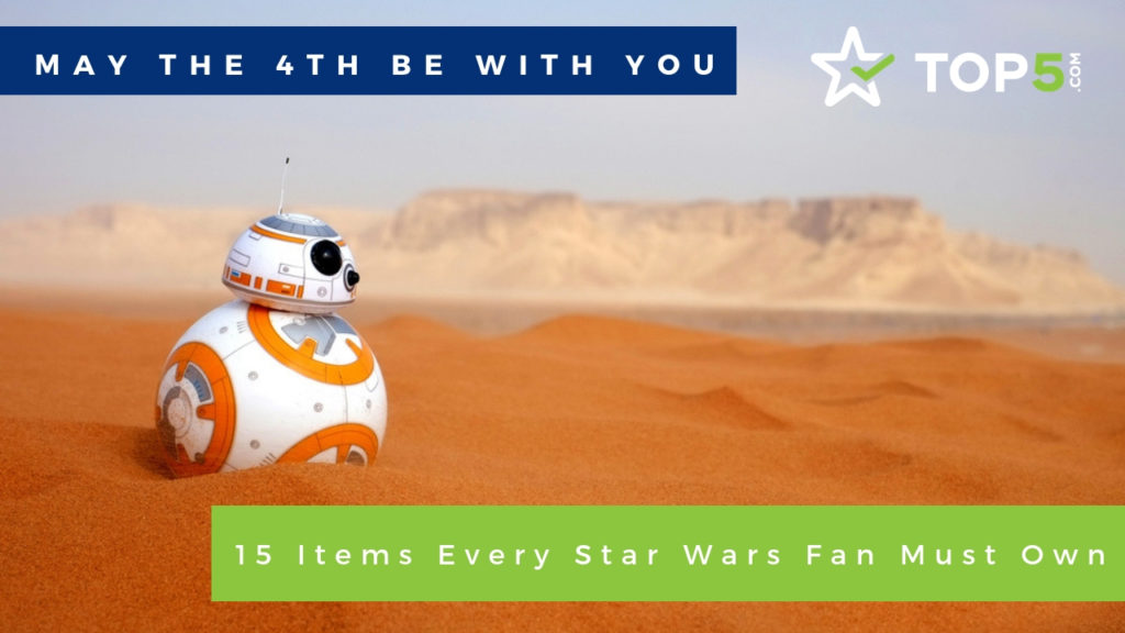 15 items every star wars fan must own