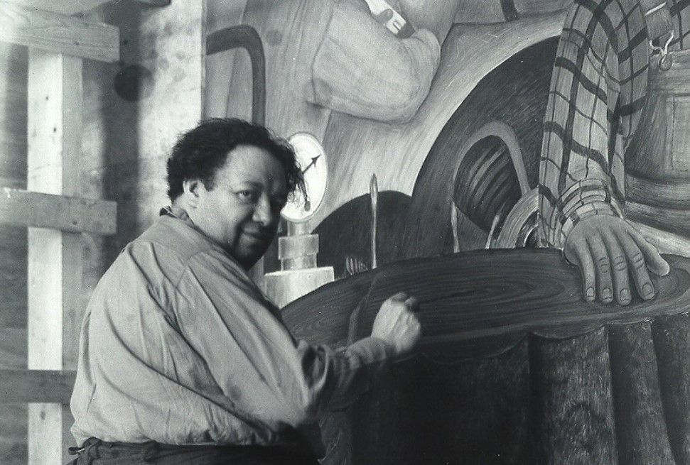 Riviera was an important political painter