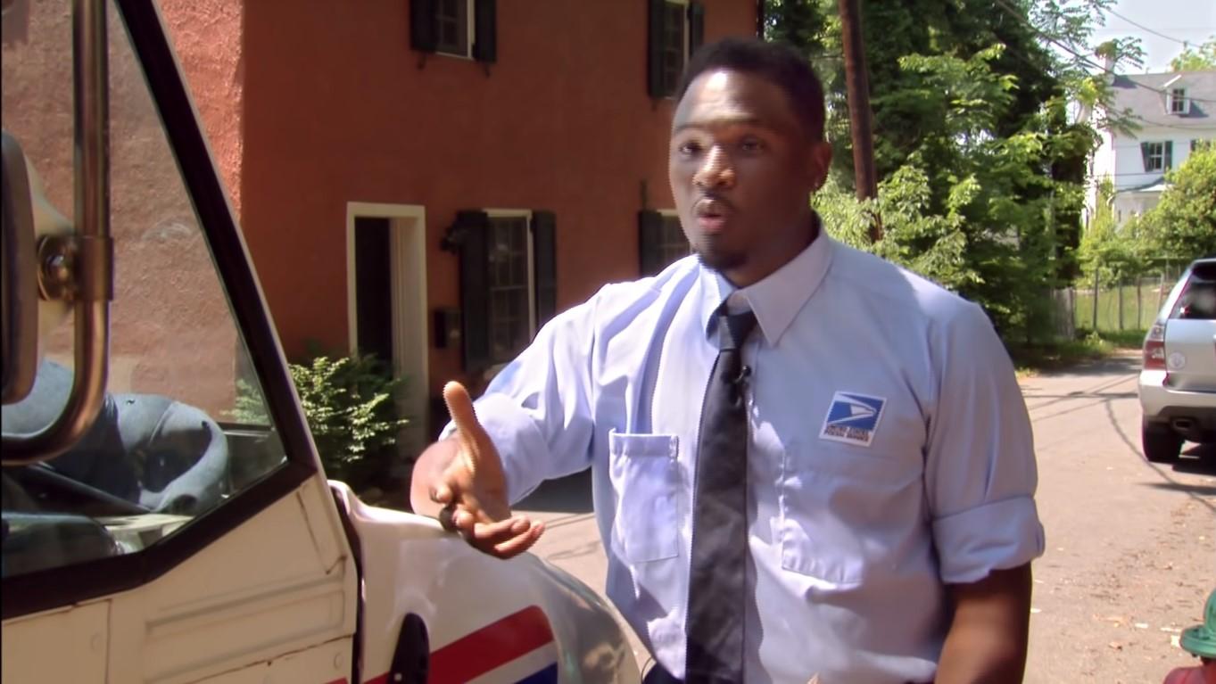postal worker finds historic mail