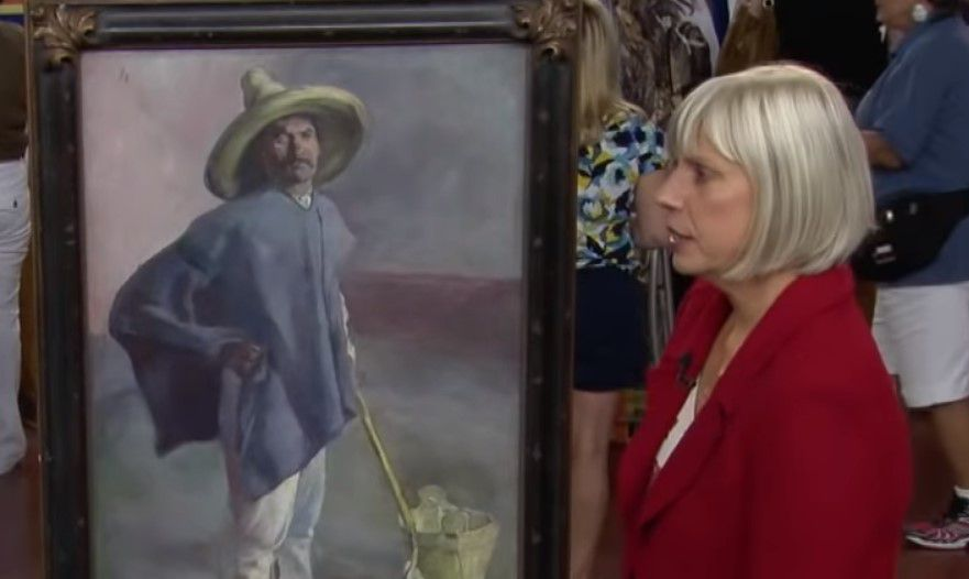 the second appraisal of the painting