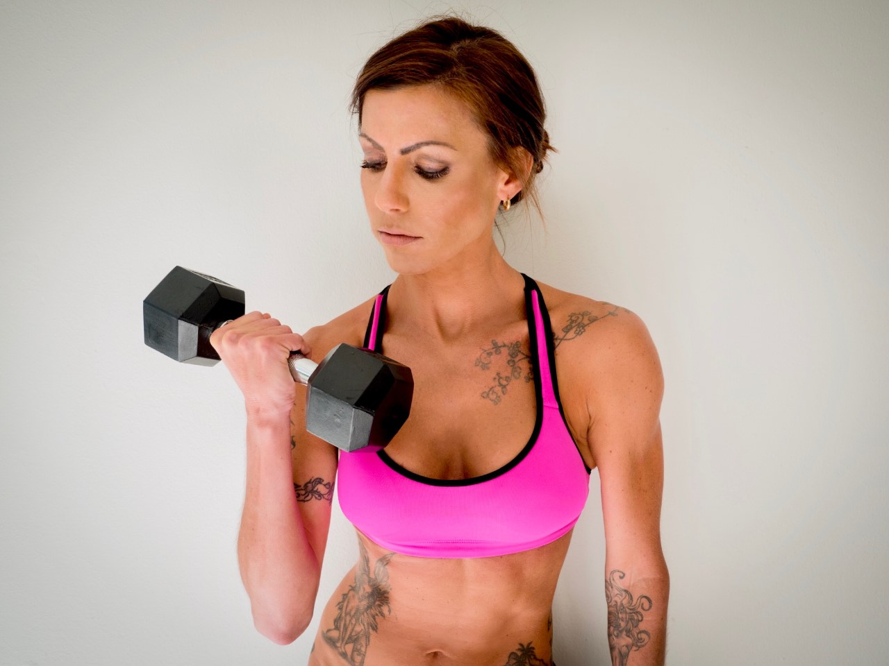 Cristy Fit lifting dumbell