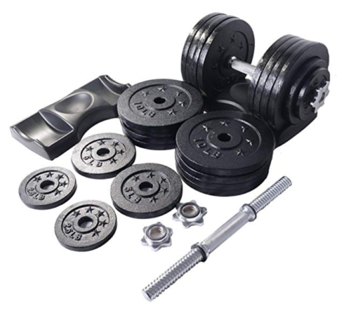Ringstar Starring 105-200 Lbs Adjustable Dumbbells