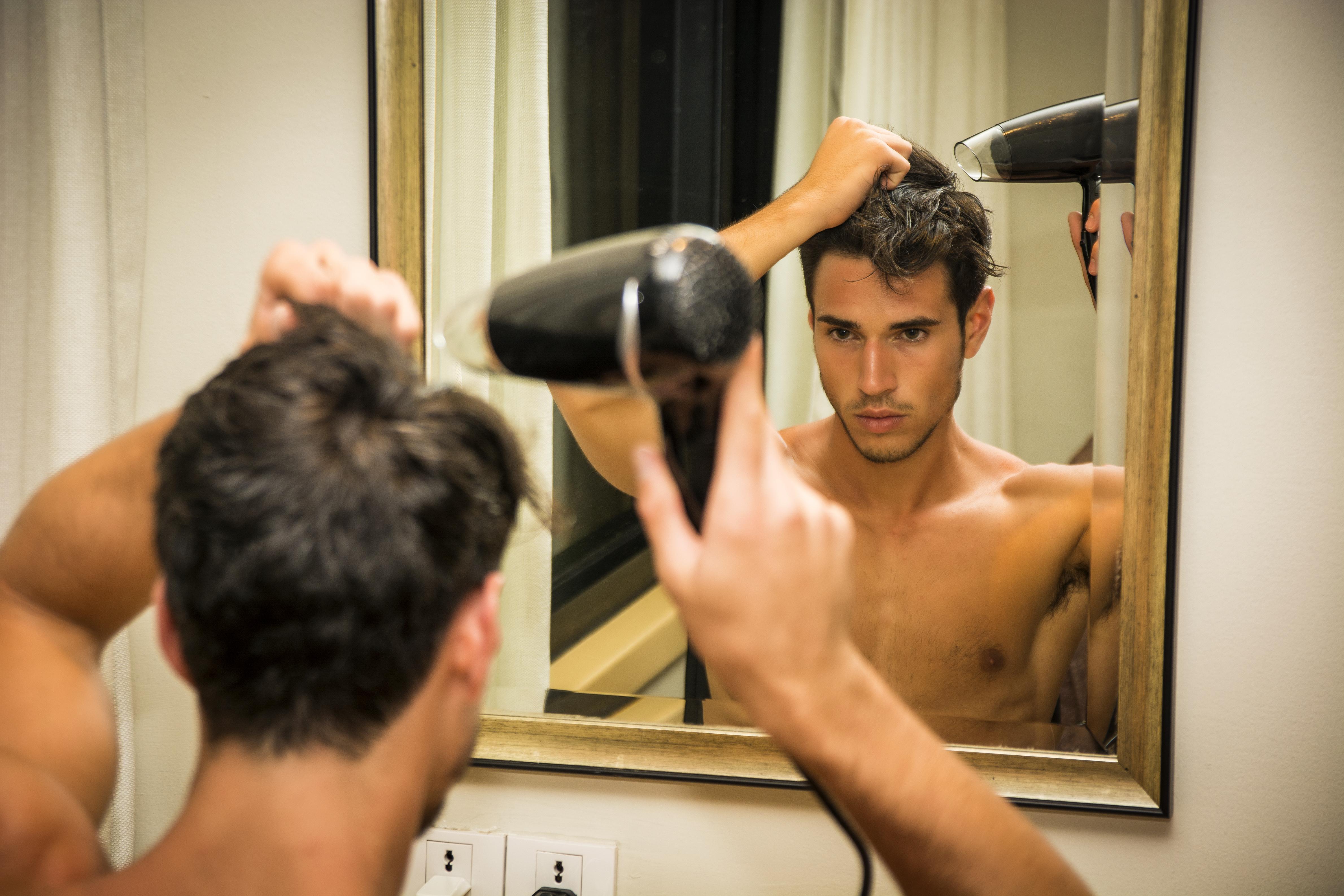 check hair dryer wattage
