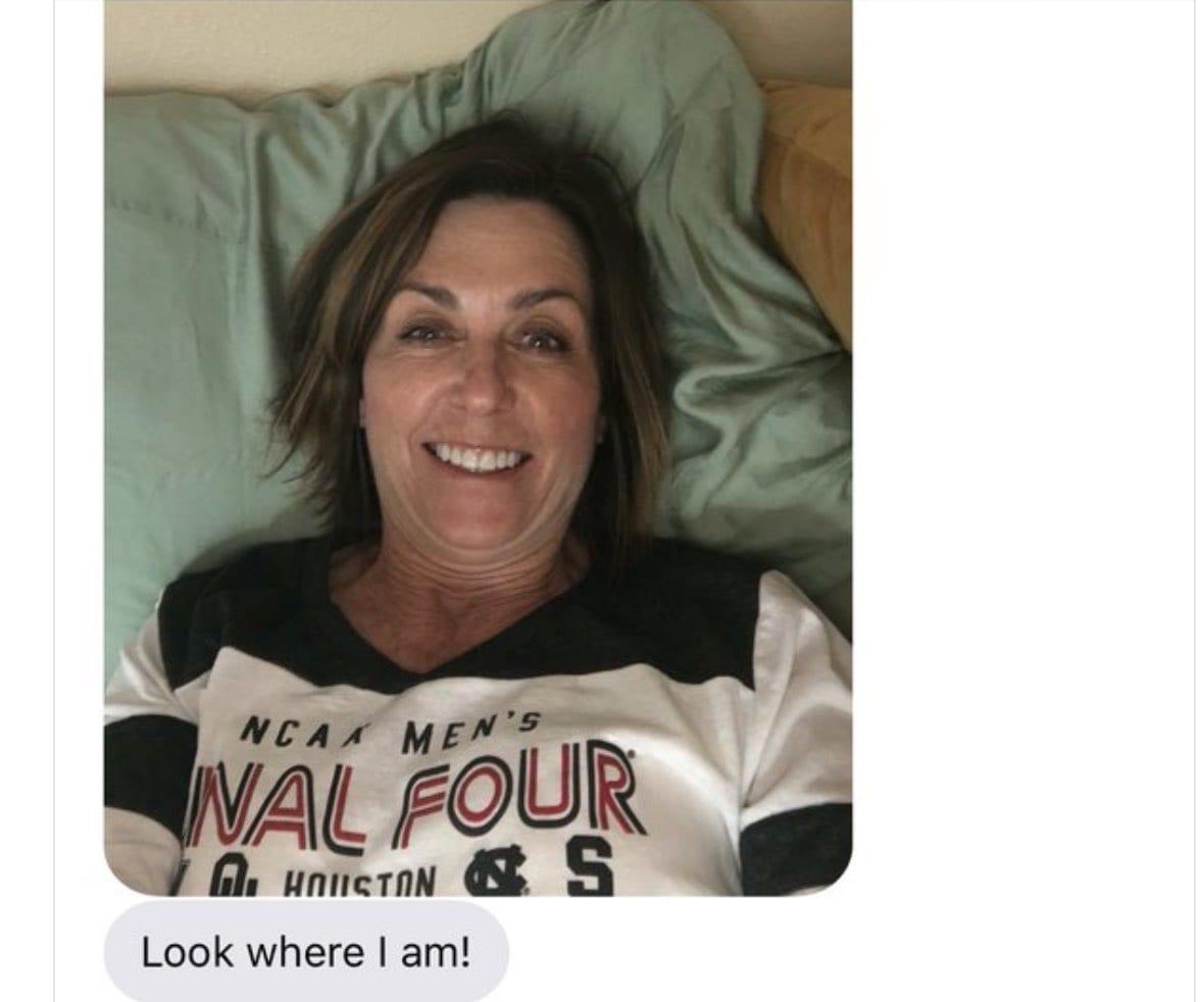 deanna pilling text to mckenna