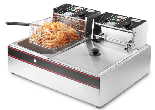 Flexzion deep fryer