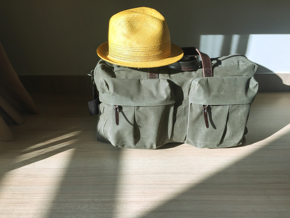 duffle with compartments
