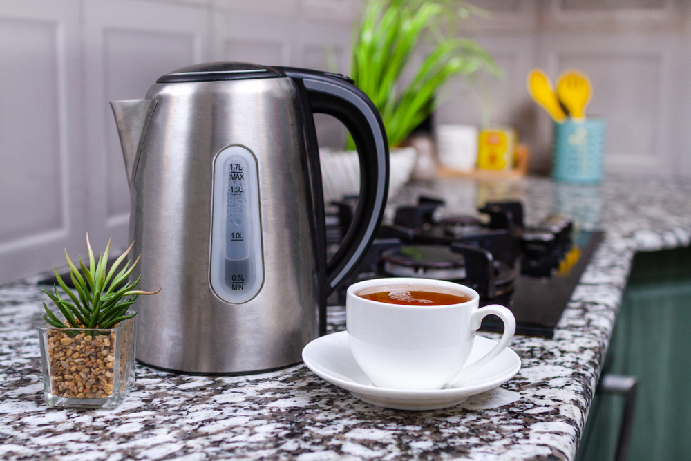 electric kettles are more efficient
