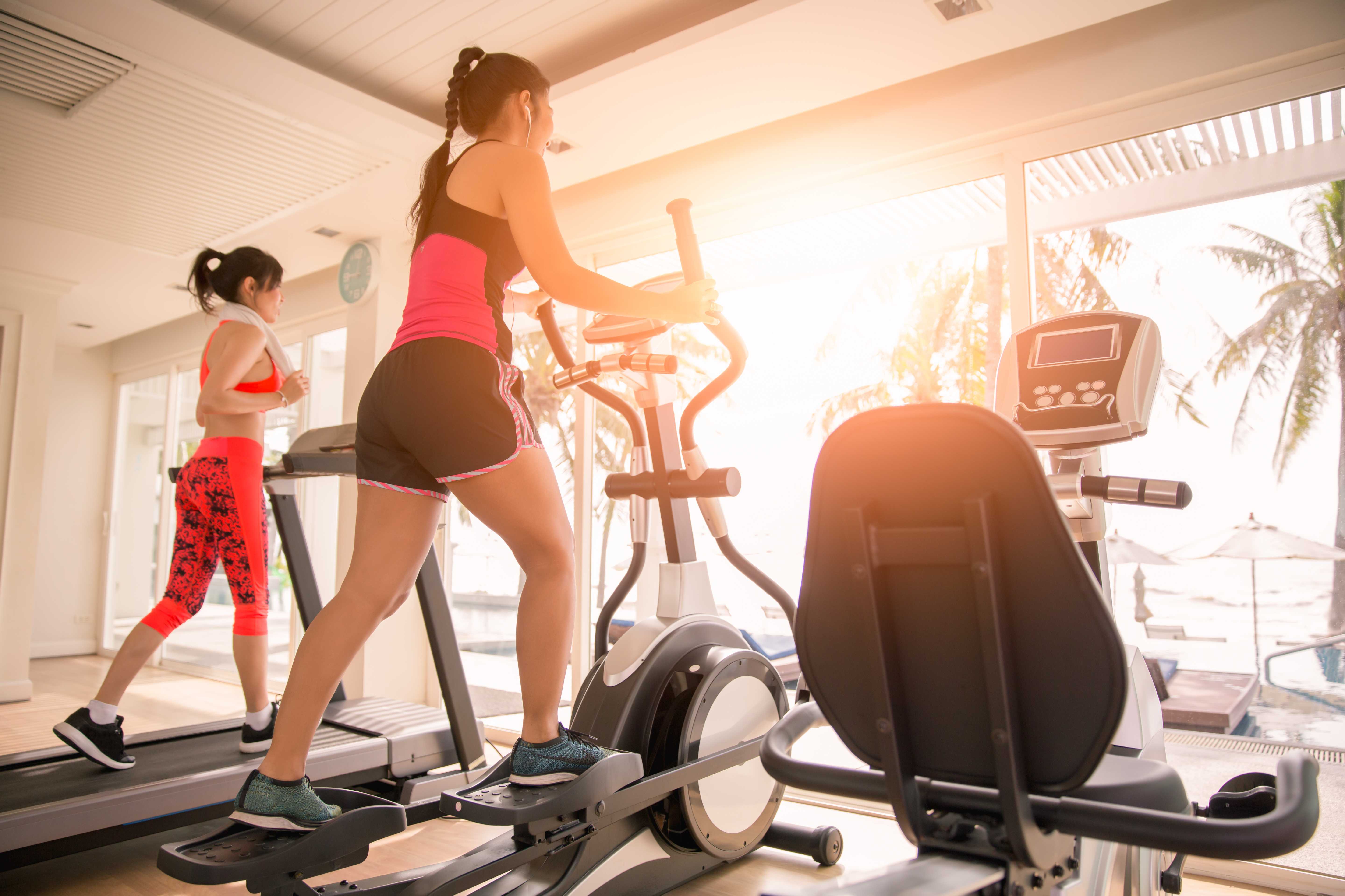 Ellipticals work your upper and lower body