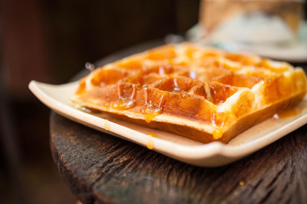 french toast waffle