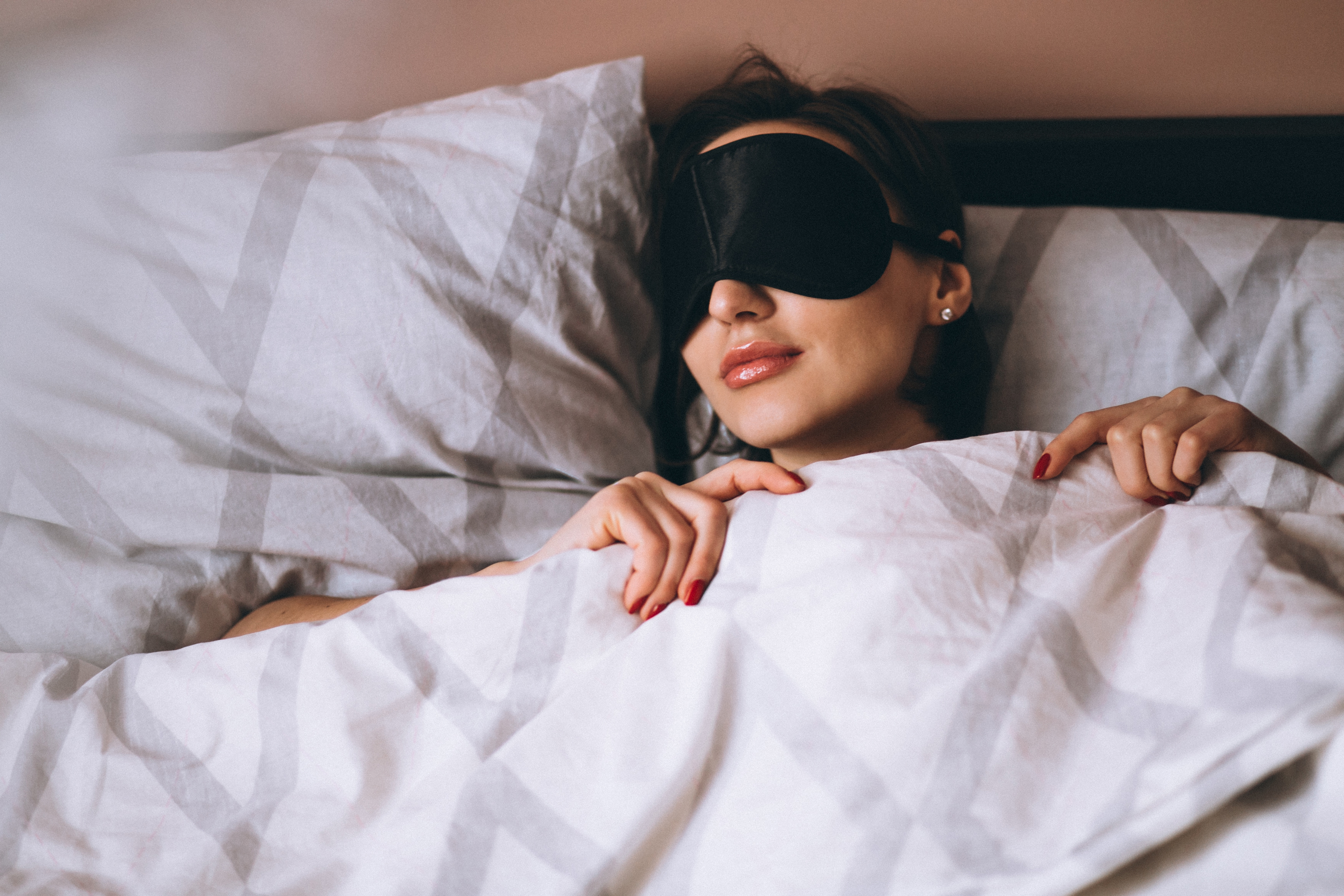 get a comfortable sleep mask