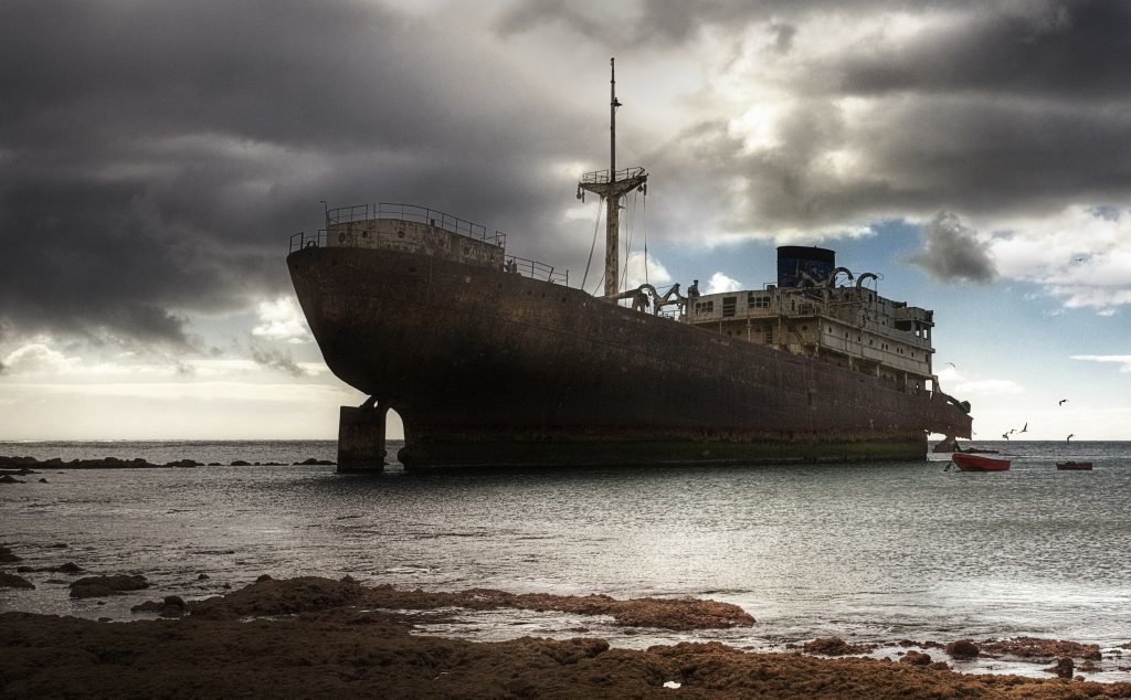 This Ghost Ship Was Missing for Years. Then It Washed Ashore