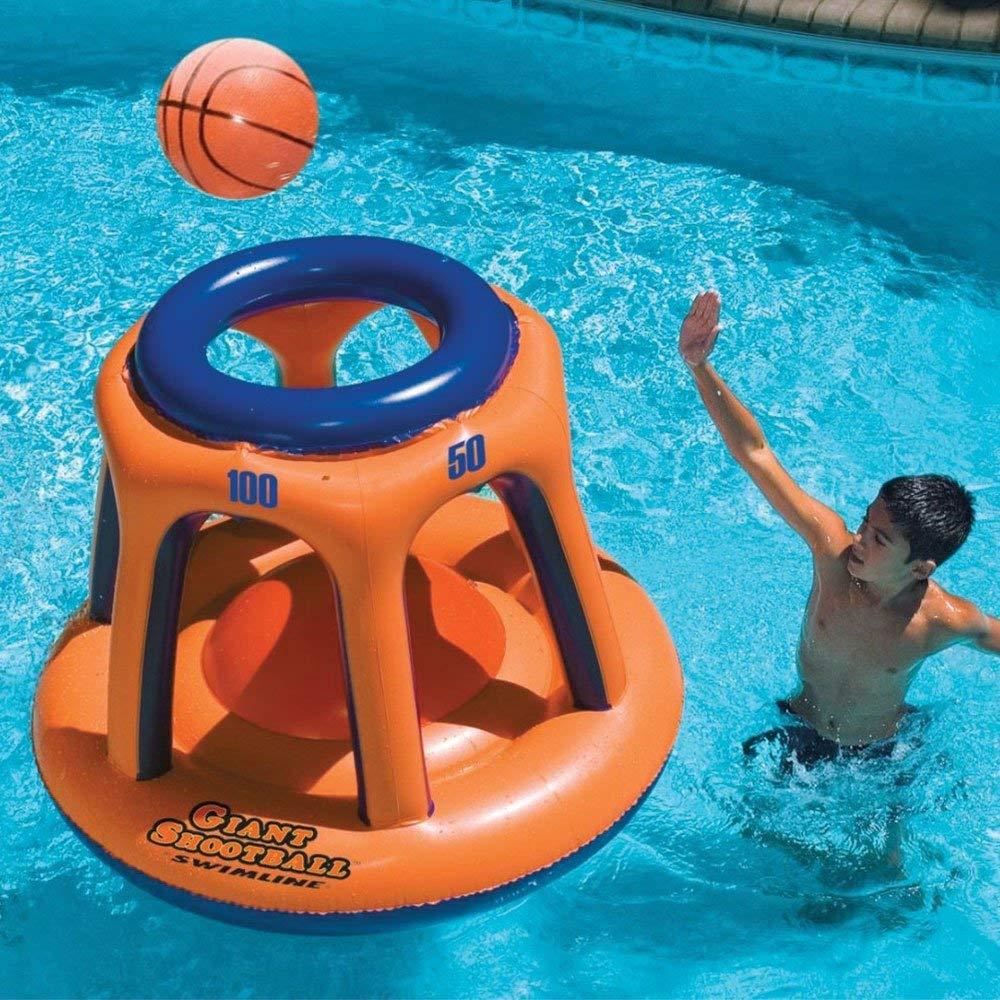 giant shootball basketball swimming pool game