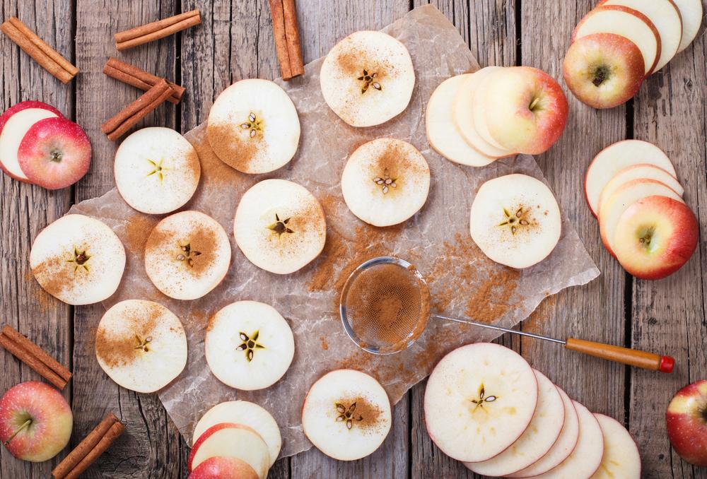 grilled cinnamon apple waffle