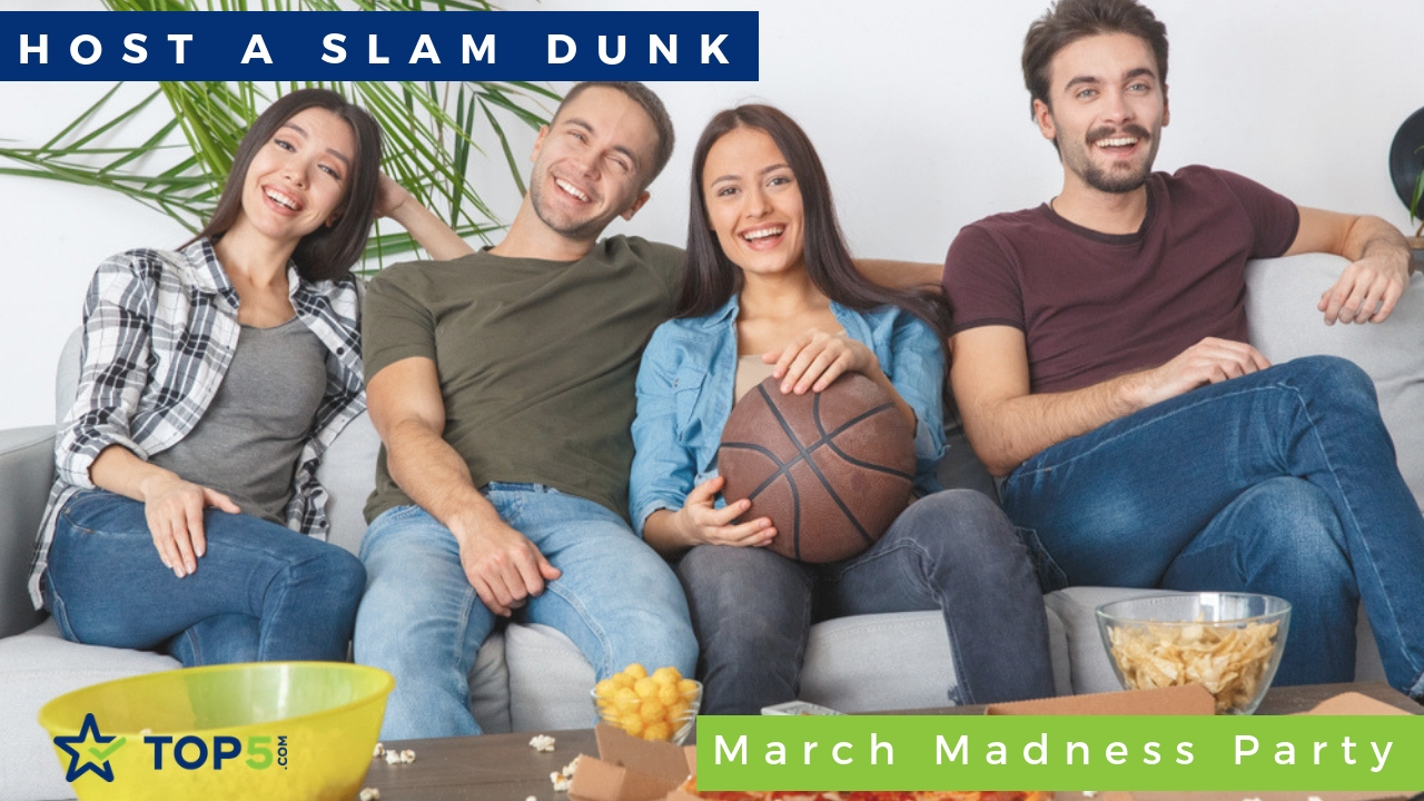 host a slam dunk march madness party