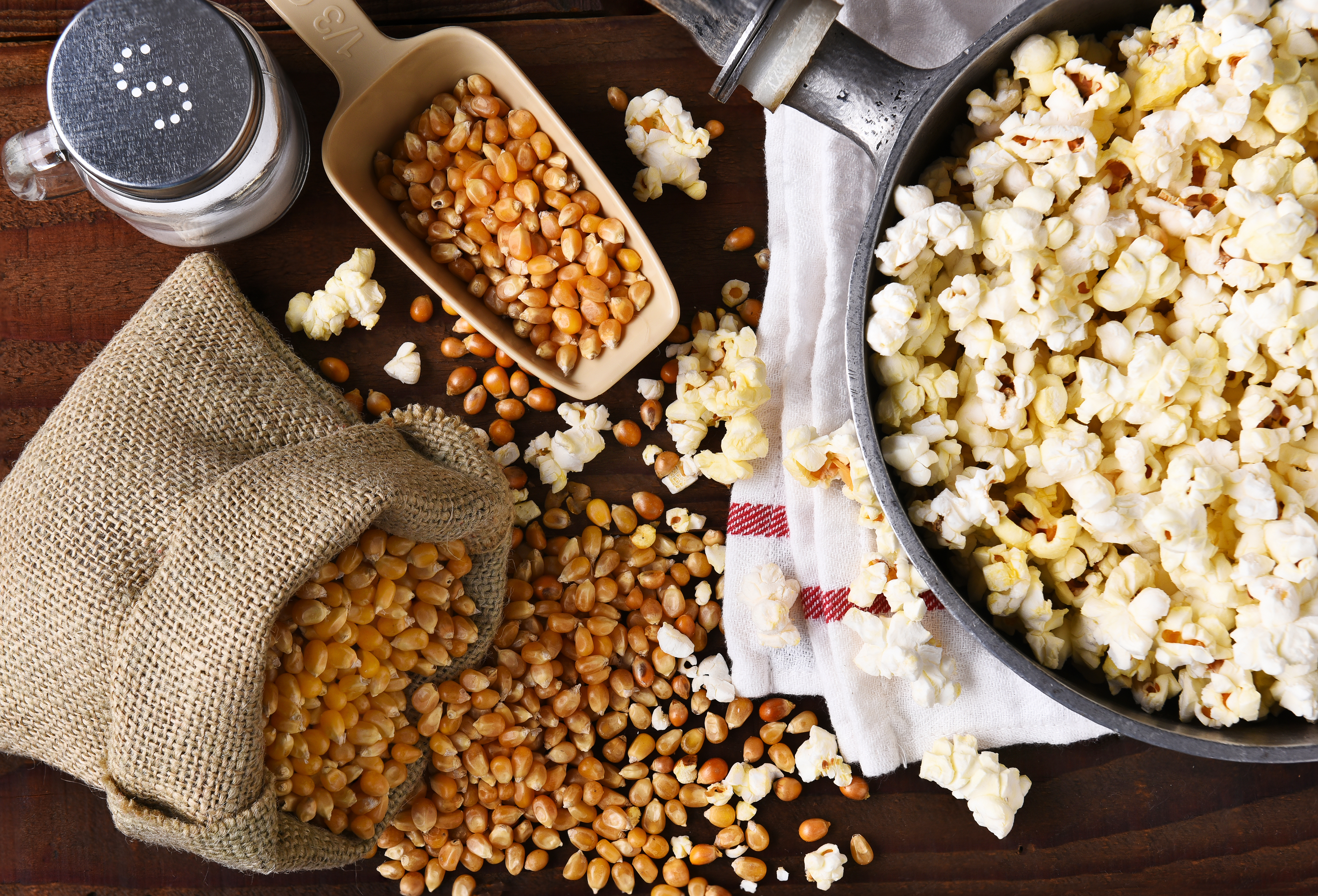 kettle material for popcorn makers