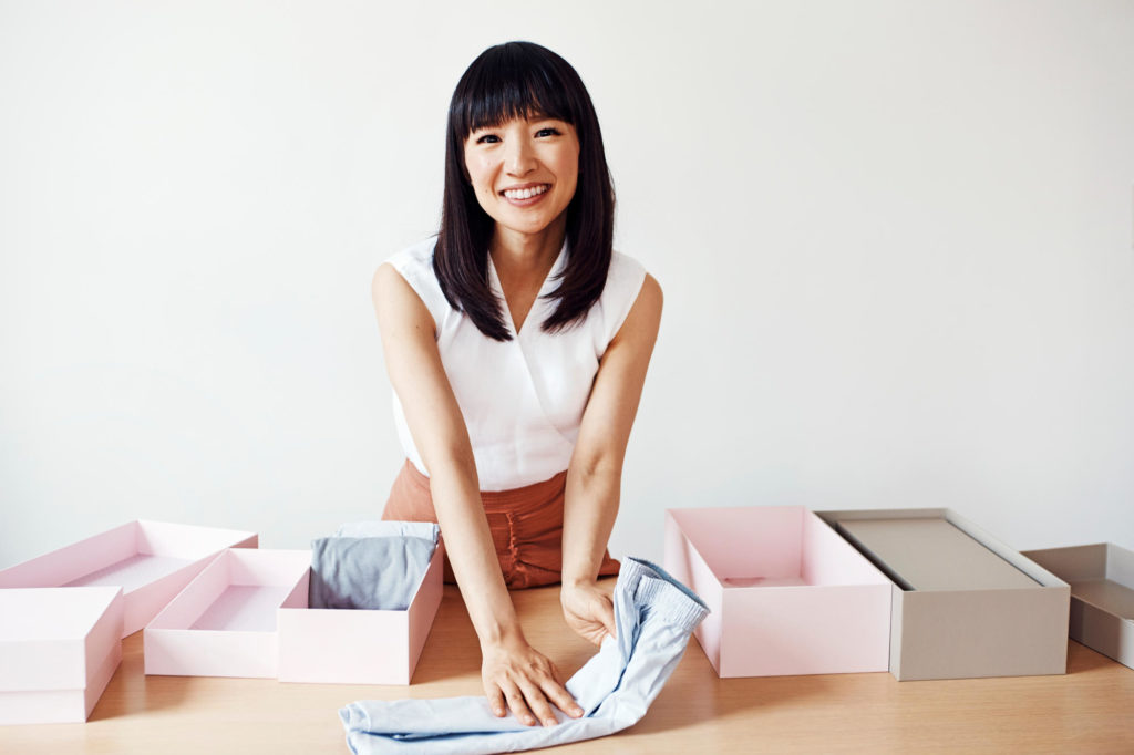 Marie Kondo Tips to Tidy Your Home With These Products