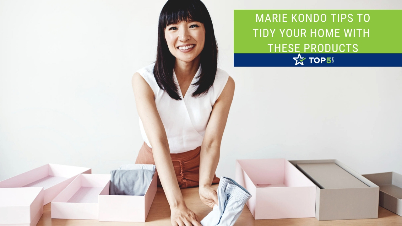 marie kondo tips to tidy your home