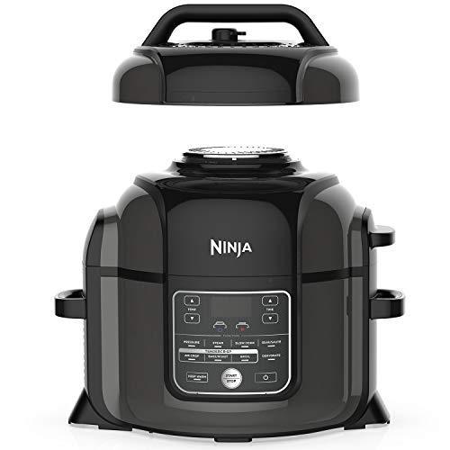 ninja pressure cooker with crisper