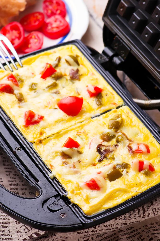 waffle maker recipes omelet