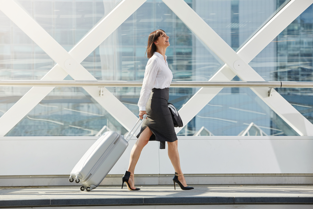 packing hacks for business travelers business woman