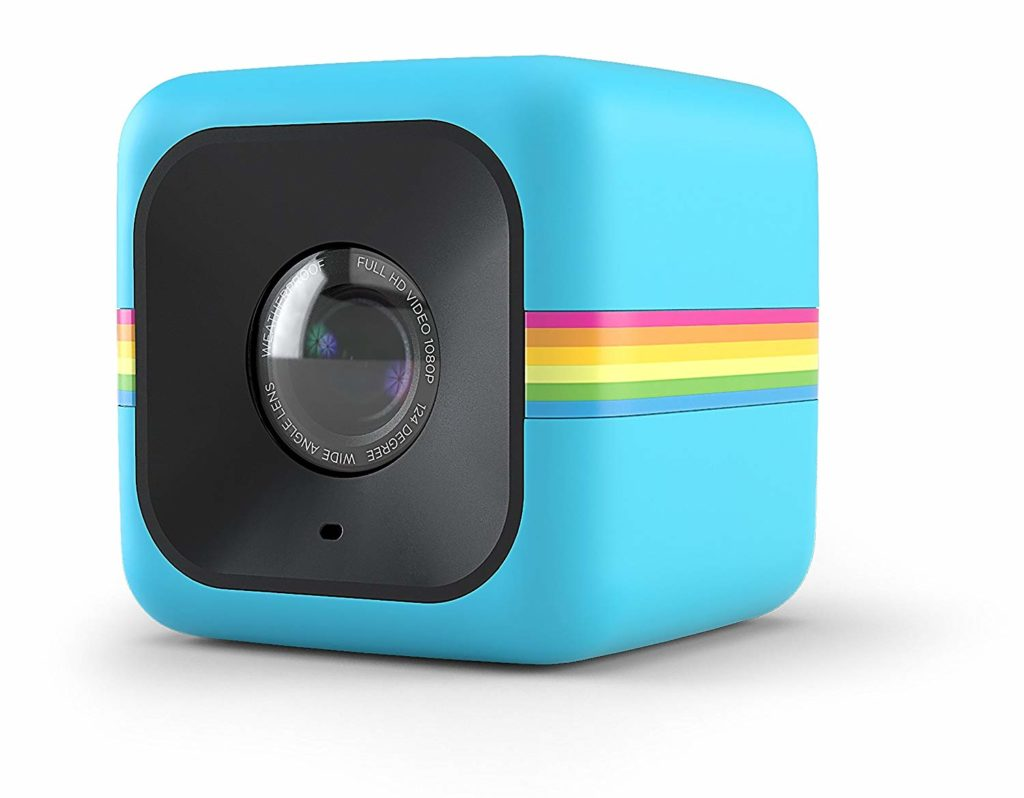 polaroid cube+ 1440p mini lifestyle action camera with wi-fi & image stabilizatio