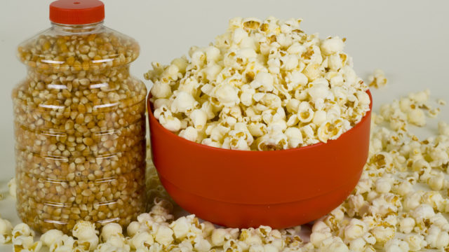 popcorn can be easy to make