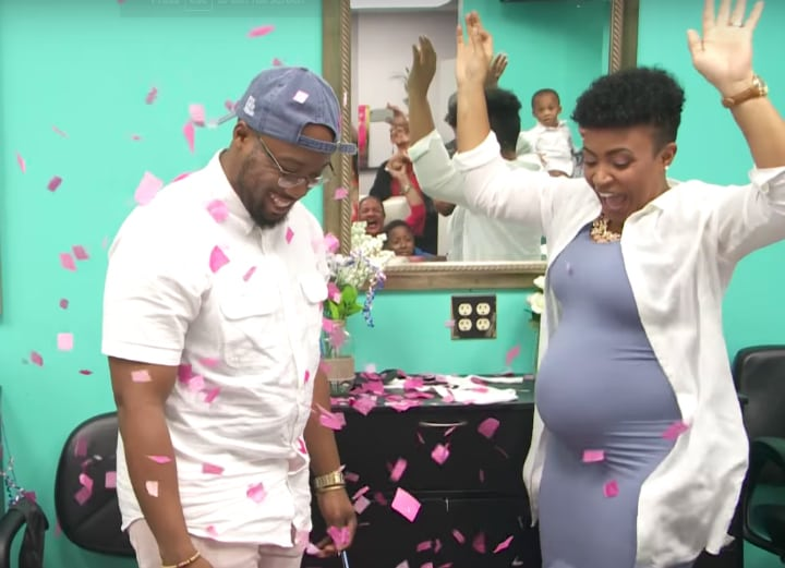 pregnancy sonogram tolbert family gender reveal