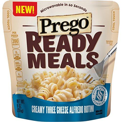 prego ready meals microwave snacks