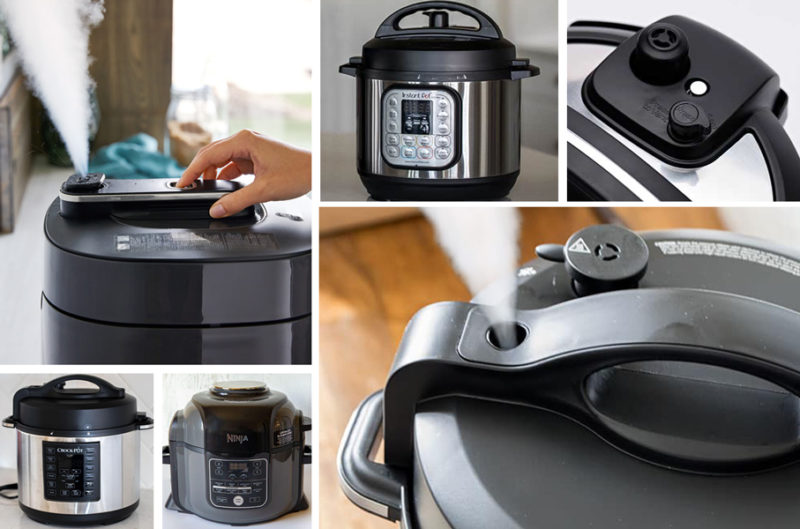 pressure cooking safety features