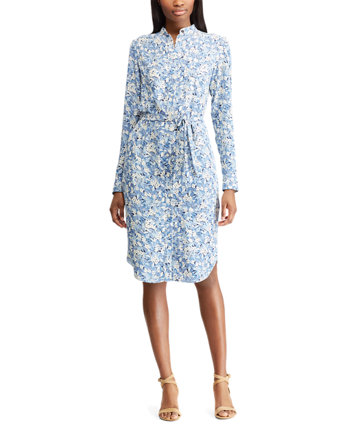 Easter dress easter brunch ralph laurenblue